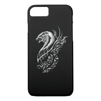 Funda Para iPhone 8/7 Negro de plata del lobo