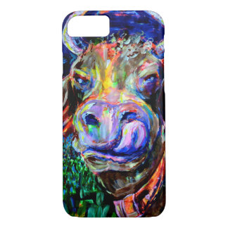 Funda Para iPhone 8/7 Neón Cow. Iphone 7 Case