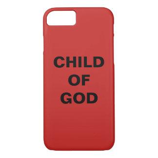 """Funda Para iPhone 8/7 """"Niño iPhone de Apple de dios"""" 8/7 caso"""