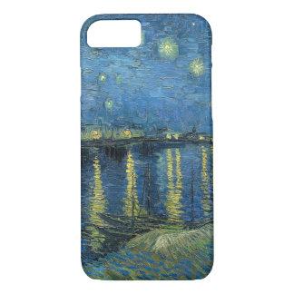 Funda Para iPhone 8/7 Noche estrellada de Vincent van Gogh sobre el