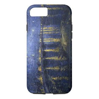 Funda Para iPhone 8/7 Noche estrellada sobre el caso del iPhone 7 de