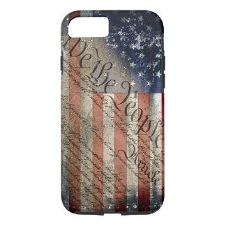Funda Para iPhone 8/7 Nosotros el caso del iPhone 6 de la bandera