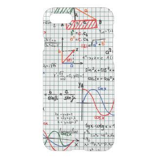 Funda Para iPhone 8/7 Números de fórmulas de la matemáticas
