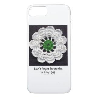 Funda Para iPhone 8/7 Nunca olvide el caso del iPhone 7 de Srebrenica
