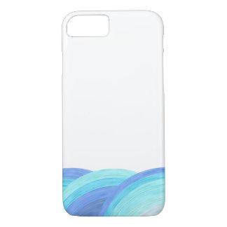 Funda Para iPhone 8/7 Olas oceánicas azules