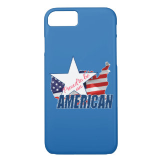 Funda Para iPhone 8/7 Orgulloso ser un americano