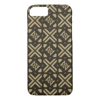 Funda Para iPhone 8/7 Oro tribal moderno cuadrado de la impresión del