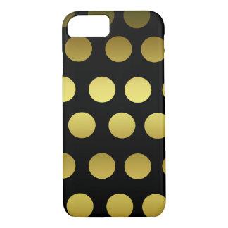 Funda Para iPhone 8/7 Oro y lunar negro