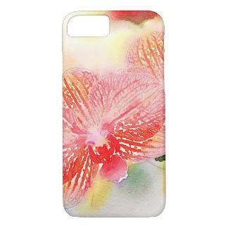 Funda Para iPhone 8/7 Orquídeas de la acuarela