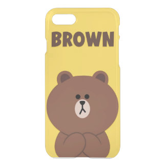 Funda Para iPhone 8/7 Oso de Brown de encargo del caso del iPhone 7