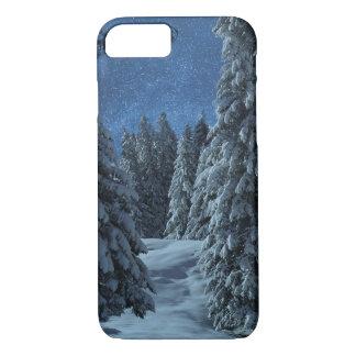 Funda Para iPhone 8/7 Paisaje de la nieve del navidad