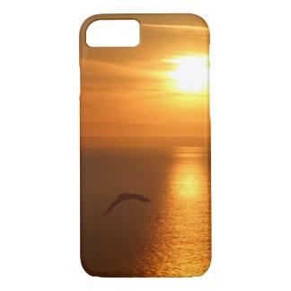 Funda Para iPhone 8/7 Pájaro de la puesta del sol