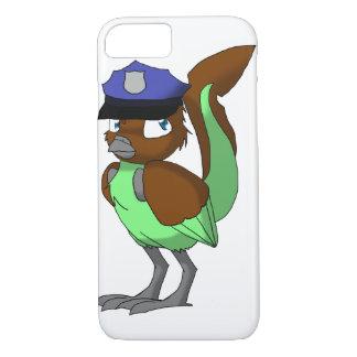 Funda Para iPhone 8/7 Pájaro del Reptilian del chocolate/de la menta del