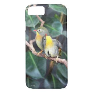 Funda Para iPhone 8/7 Pájaros en caso del teléfono del amor