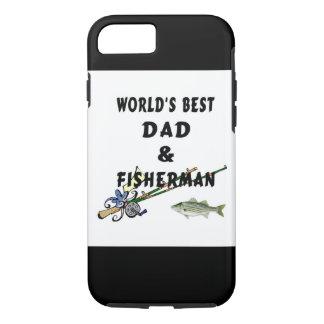 Funda Para iPhone 8/7 Papá del padre de la pesca el mejor