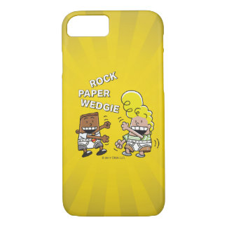 Funda Para iPhone 8/7 Papel Wedgie de la roca de capitán Underpants el |