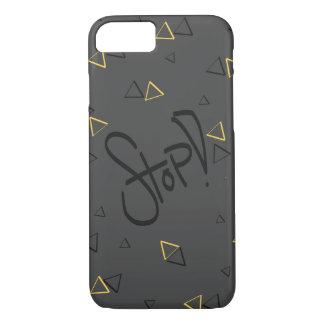 Funda Para iPhone 8/7 ¡Parada! gris amarillo y negro del modelo del