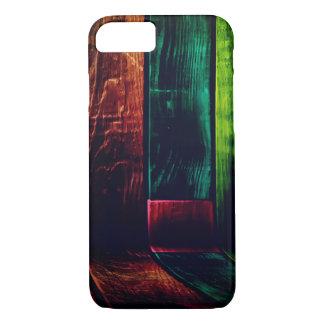 Funda Para iPhone 8/7 Pared de madera colorida del grano