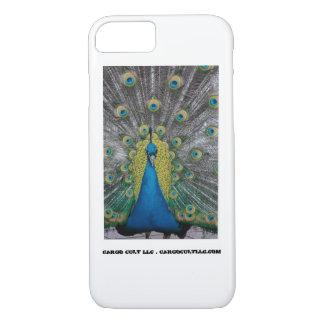 Funda Para iPhone 8/7 Pavo real que hace frente al frente