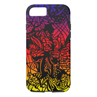 Funda Para iPhone 8/7 Pendiente tropical abstracta