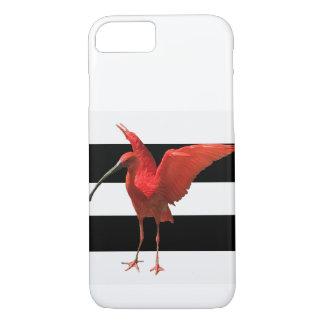 Funda Para iPhone 8/7 Pequeña caja roja del teléfono de la cigüeña