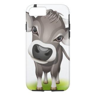 Funda Para iPhone 8/7 Pequeña vaca suiza
