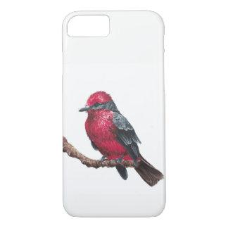 Funda Para iPhone 8/7 Pequeño pájaro rojo