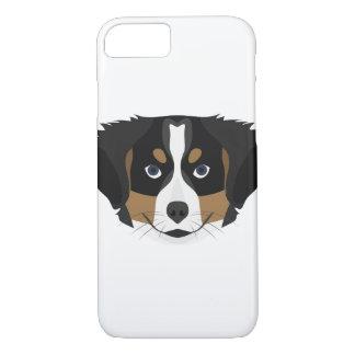 Funda Para iPhone 8/7 Perro de montaña de Bernese del ilustracion
