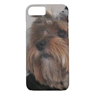 Funda Para iPhone 8/7 Perro de perrito lindo de Yorkshire Terrier