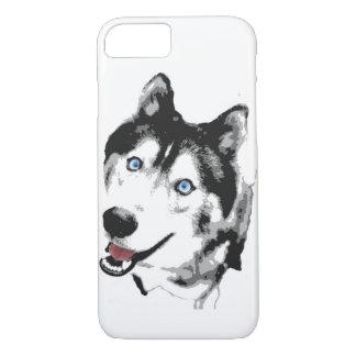 Funda Para iPhone 8/7 Perro esquimal de la caja del teléfono