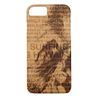 Funda Para iPhone 8/7 Persona que practica surf de madera del sitio
