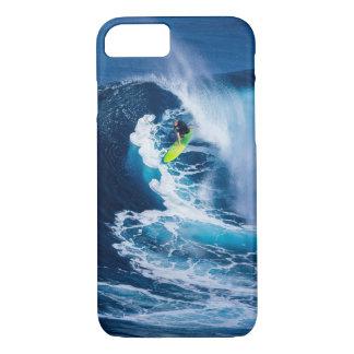 Funda Para iPhone 8/7 Persona que practica surf en la tabla hawaiana