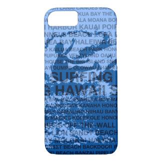 Funda Para iPhone 8/7 Persona que practica surf hawaiana de la reducción
