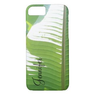 Funda Para iPhone 8/7 Personalizado con la foto de las hojas y de la luz