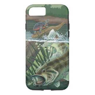 Funda Para iPhone 8/7 Pesca de perca americana