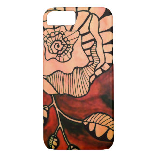 Funda Para iPhone 8/7 Phone red-flower case