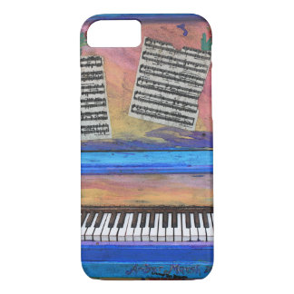 Funda Para iPhone 8/7 Piano colorido