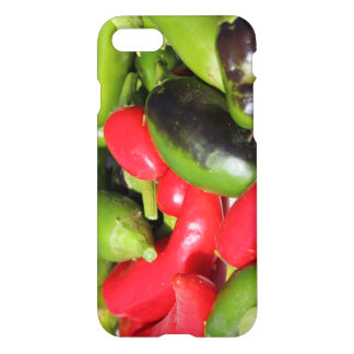Funda Para iPhone 8/7 Pimientas de chile rojas y verdes IPhone 8/7 caso