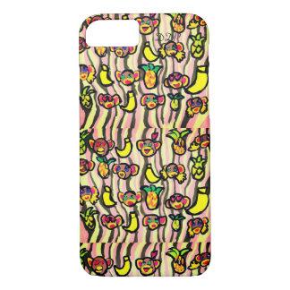 Funda Para iPhone 8/7 piña del plátano del mono