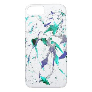 Funda Para iPhone 8/7 Pinte el caso del iPhone 7 de la salpicadura