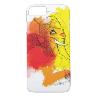 Funda Para iPhone 8/7 pinturas de Ganesha del abtract