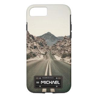 Funda Para iPhone 8/7 placa conocida personalizada