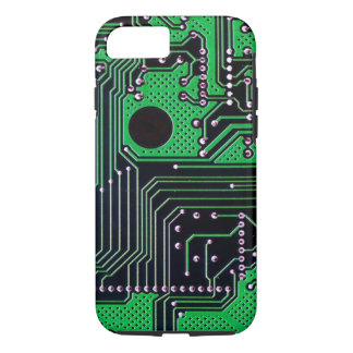 Funda Para iPhone 8/7 Placa de circuito (PWB) - color verde