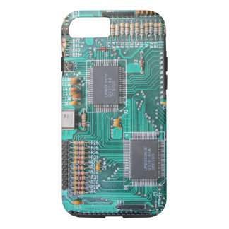 Funda Para iPhone 8/7 Placa madre: foto del tablero de lógica del