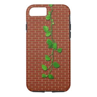 Funda Para iPhone 8/7 Planta de dinero en Brickwall rojo