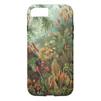 Funda Para iPhone 8/7 Plantas del musgo del vintage de Ernst Haeckel,