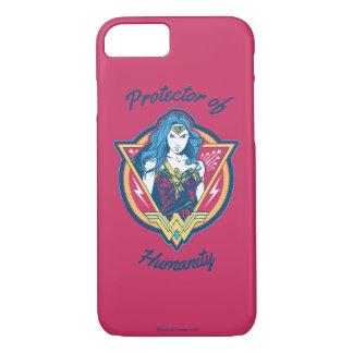 Funda Para iPhone 8/7 Plantilla gráfica tricolora de la Mujer Maravilla