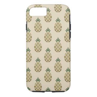 Funda Para iPhone 8/7 Plantilla hawaiana tropical de la piña