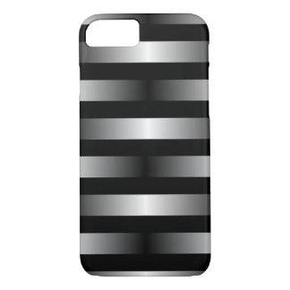 Funda Para iPhone 8/7 Plata/CASO metálico del iPhone 7 del diseño del