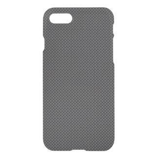 Funda Para iPhone 8/7 Polímero negro y gris de la fibra de carbono
